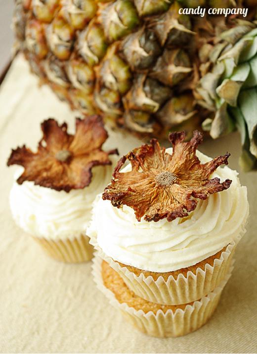 cytrynowe babeczki z ananasem