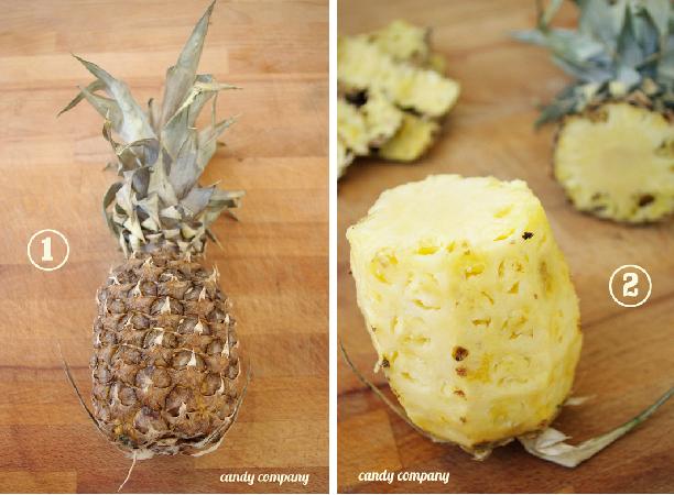 ananasowe kwiaty