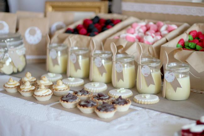 słodki bufet jak piknik