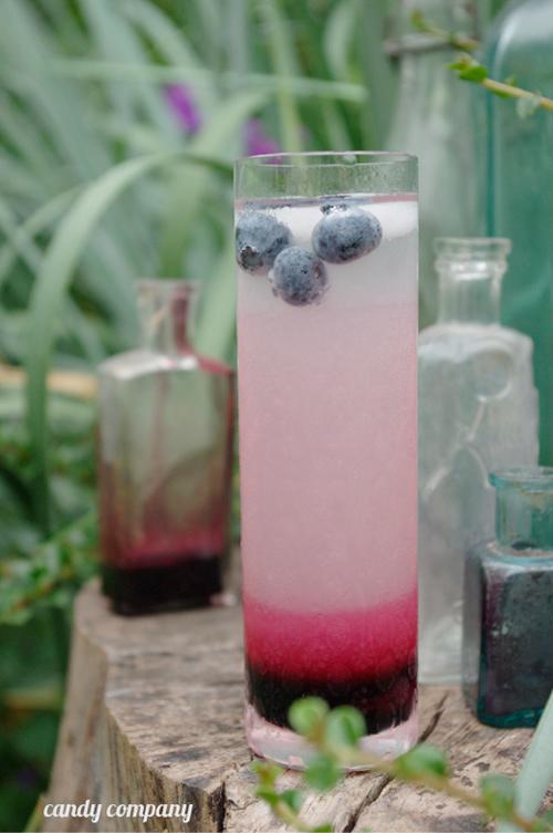 lemoniada rabarbarowo borówkowa