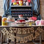 cyrkowy słodki bufet