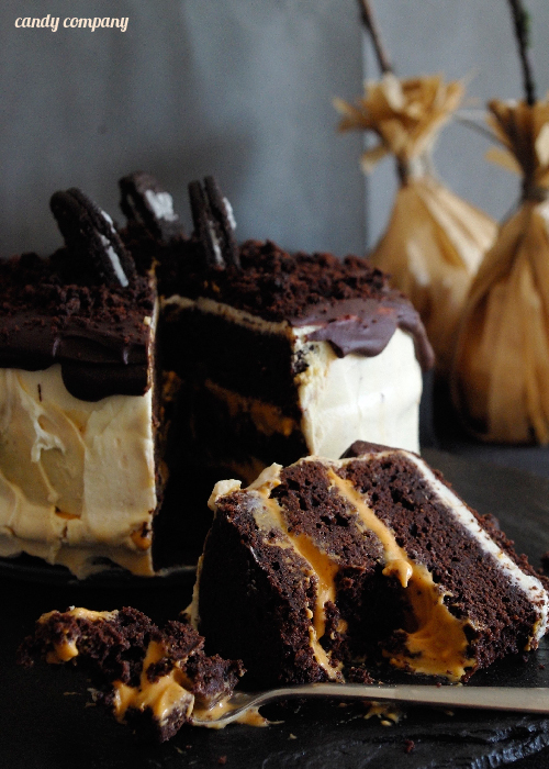 tort czekoladowo dyniowy