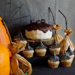 słodki bufet na Halloween