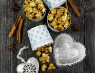 piernikowy popcorn