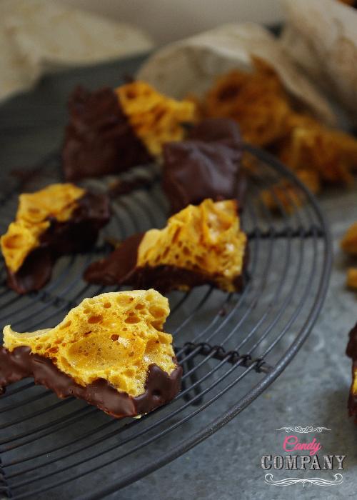 honeycomb w czekoladzie