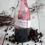 elderberry syrup syrop z czarnego bzu