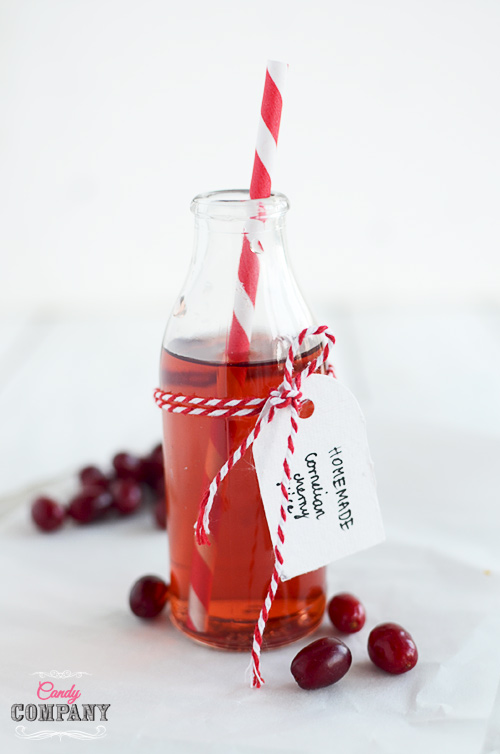 Easy and healthy cornelian cherry juice, perfect for drinks and beverages. Tastes great with a cup of tea