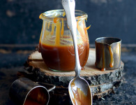 The best salted caramel sauce recipe. Step by step pictures