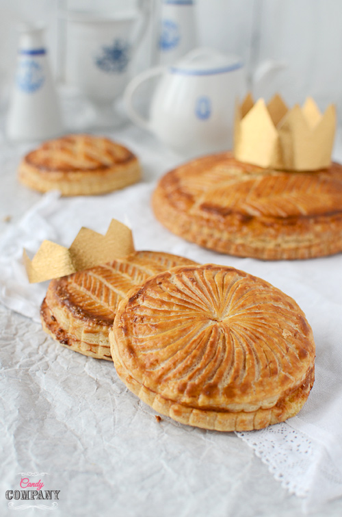 galette de rois puff pastry and amazing almond filling, traditional French dessert baked during Christmas and January
