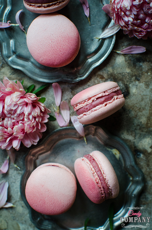 corneliancherry macaroons , the best macaroons ever. Perfectly balanced sweet and sour taste