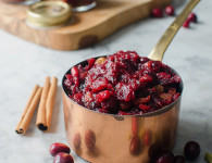 Cranberry mincemeat recipe - easy and delicious. Food photography by Candy Company