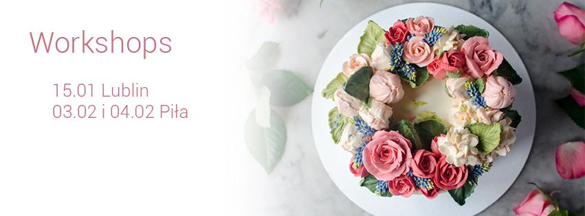 buttercream flower cake workshops