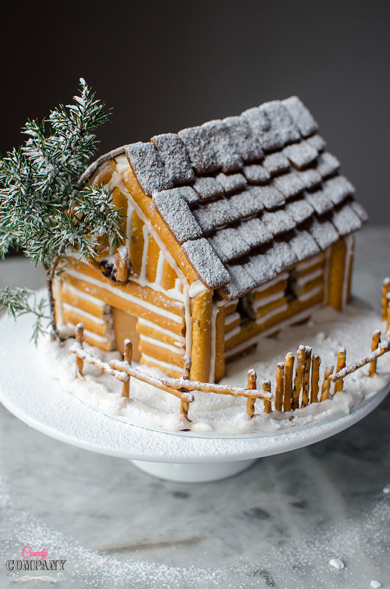 Gingerbread house idea by Candy Company