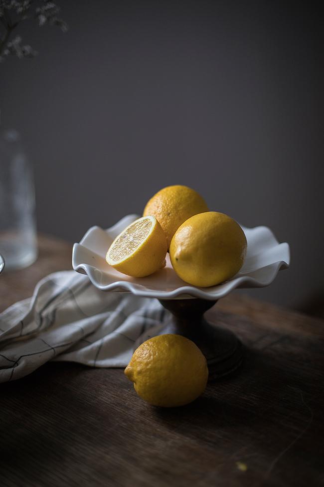 lemon poppy seed bundt cake recipe. Food photography by Candy Company