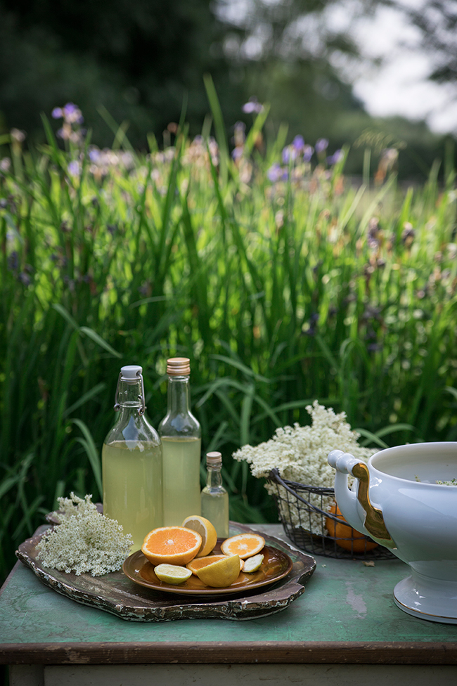 Orange and elderflower syrup recipe by Candy Company