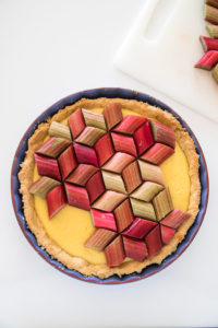 Rhubarb tart recipe by Candy Company