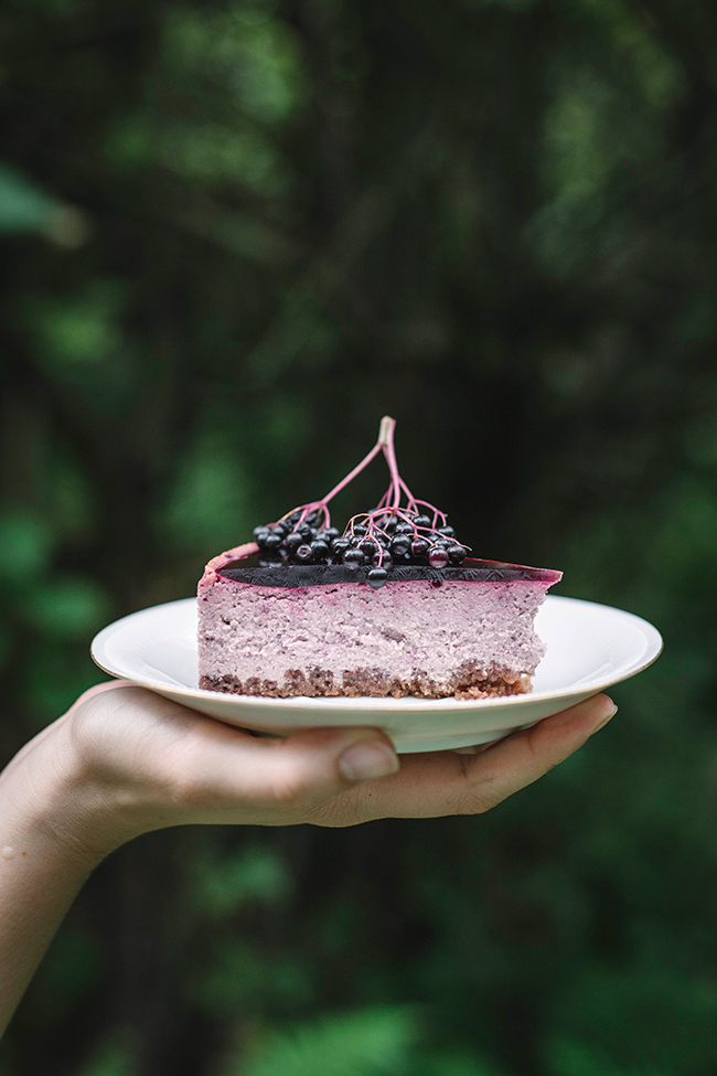 Gluten free elder berry cheesecake recipe by Candy Company