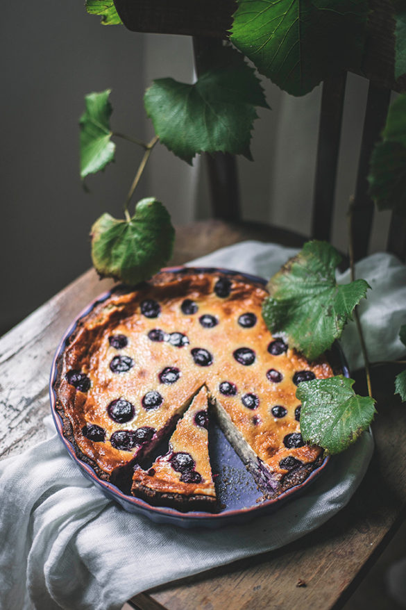 grape tart recipe by Candy Company. tarta z winogronami